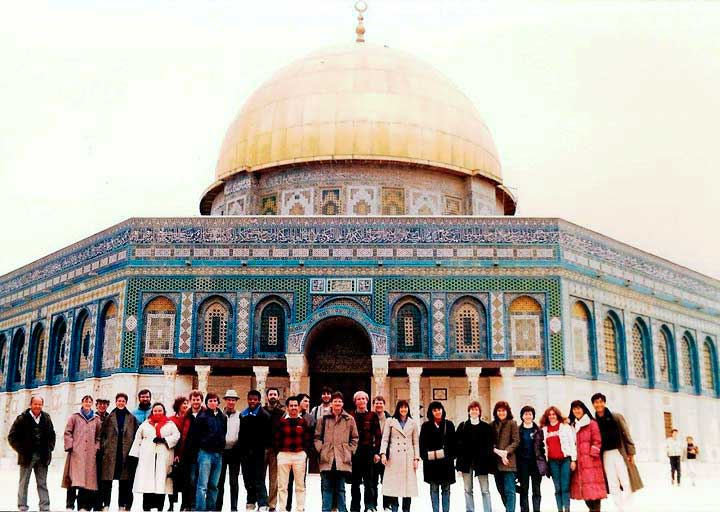 Temple Mount outside of the Dome of the Rock