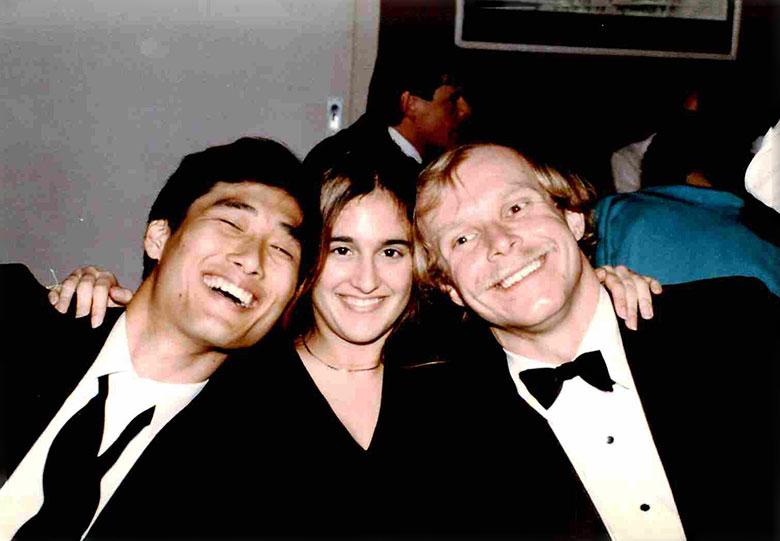 John, Valerie, Brian