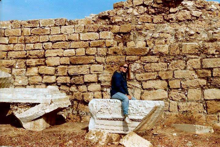 Karen at Caesarea
