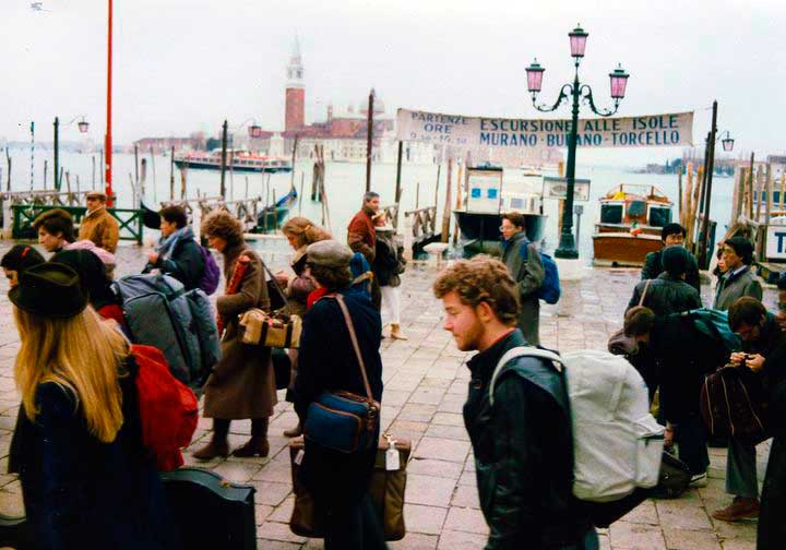Launch in Venice